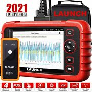 Launch Crp123x Code Reader- Obd2 Scanner Scan Tool For Abs Srs Tpms
