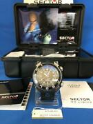 Sector Shark Master Diver 1000m Automatic Men's Watch Full Set Unused