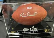 Patrick Mahomes Auto On Nfl Team Issued 100th Anniversary Game Ball
