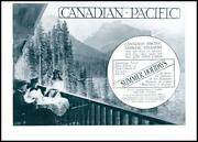 1909 Advertising Canadian Pacific Empress Steamers Summer Holidays 018