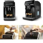 Philips 3200 Series Fully Automatic Espresso Machine W/ Milk Frother Black Ep3