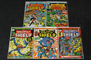 Nick Fury And His Agents Of Shield 1 2 3 4 5 Complete Series 1973 Jim Steranko