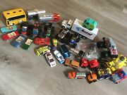 Lot Of Collectible Toy Vehicles Diecast Hot Wheel Matchbox Tonka Mustang Mystery