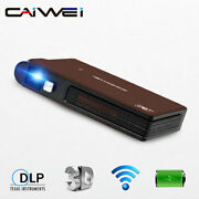 Smart Portable Mini Dlp Projector Wifi Hdmi Airplay 3d Home Theater Video Tv Ppt