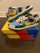 Ben And Jerryand039s X Nike Sb Dunk Low Chunky Dunky Size 12 100 Authentic