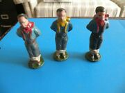 Rare Cowboy Western Tied To Post Wendal Toy Figure Total Lot 250 Pcs Vintage  J