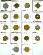 Watsonville Ca Trade Token Collection - See Complete List