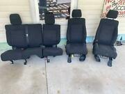 All Seats Front And Rear Sold As A Set Jeep Wrangler 11 12 13 14 15 16 17