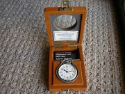 Superb 1943 Elgin British Royal Navy Military Deck Watch In Box Museum Quality