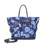 Louis Vuitton Noeful Mm M94312 Ikat Flower Granblue Women And039s Tote Bag No.1036