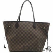 Louis Vuitton N51105 Neverfulle Mm Damier Tote Bag Women And039s Used-ab No.1780