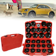 New General Cup Tyre Oil Filter Wrench Socket Removal Car Garage Tool Kit 30x