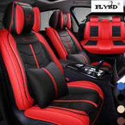 Universal Car Seat Cover 5-seats Suv Truck Auto Luxury Front Rear Accessories Us