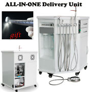 Dental Delivery Unit All-in-one Cabinet Compressor Ultrasonic Scaler Curing Gift