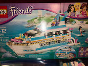 Lego Friends Dolphin Cruiser 41015 With Box And Instructions