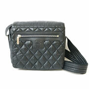 Previously Owned Shoulder Bag Cocococoon Black Women And039s No.8036