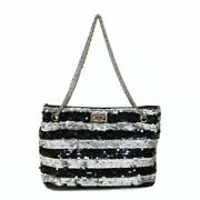 Sale Previously Owned Shoulder Bag Black Women And039s Fashionable No.1171