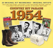 V/a-country Hit Parade 1954-`webb Pierce,tommy Collins,carl Smith,jim Ree Cd New
