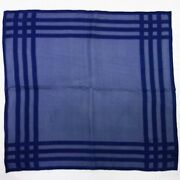 Sale  Scarf Navy Apparel Accessory R418-11 Previously Owned No.1484