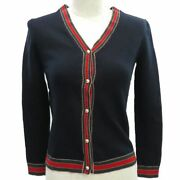 Sherry Line Cardigan Gg Button Kering Japan Tops Navy Red Green No.3255