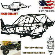 Metal Steel Roll Cage Frame Body Chassis For 1/10 Rc Axial Wraith 90053 Rr10 Us