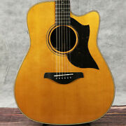 Yamaha / A5r Are Vintage Natural Acoustic Electric Guitars