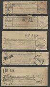 Malaya Postal Receipts With Alor Star By Air Hs X 5 Diff None Recorded By Proud
