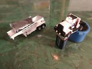 Tyco Us1 Electric Trucking Lighted Alaska Ore Semi And Trailer With Custom Gravel