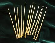 Vintage Christmas Spikes Plastic Gold Round For Crafts Decorations Midcentury