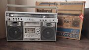 National Rx-5600 Stereo Boombox
