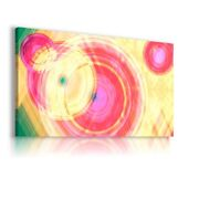 Painting Colorful Circles Print Canvas Wall Art Picture Ab559 Unframed-rolled