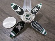Strike Fighter Squadron 195 Vfa-195 Dambusters Usn Cpo Spinner Challenge Coin
