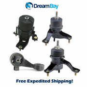 2002-2006 For Toyota Camry 3.0l Engine And Trans Mount 4pcs - Hydraulic For Auto