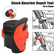 Front Motorcycle Oil Seal Fork Cleaner Shock Absorber Repair Tool 45mm To 55mm