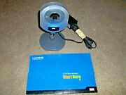 Linksys Wireless G Internet Video Camera Wvc54gc With Power Supply And Cd