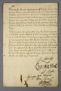1703 | Order Docking Troopsand039 Pay Signed By 7 Army Leaders War Spanish Succession