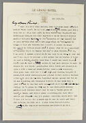 1971 Als Letter   Cecil Roberts Disparaging To Alan Sillitoe Nottingham Authors