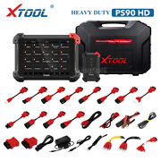 Xtool Ps90 Pro Hd 24v Heavy Duty Truck Diesel Full System Diagnostic Scan Tool