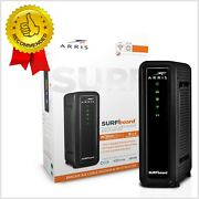 Arris Surfboard 16x4 Cable Modem Ac1600 Dual Band Wifi Router Up To 300 Mbps