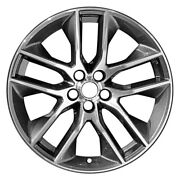 For Ford Mustang 15-17 Alloy Factory Wheel 5 Y-spoke Charcoal 20x9 Alloy Factory