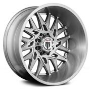 American Truxx At184 Dna Wheels 24x14 -76, 8x170, 125.2 Brushed Rims Set Of 4
