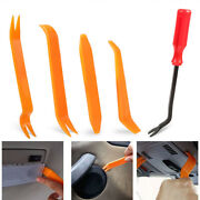 5pcs Auto Trim Removal Tool Kit No-scratch Pry Tool Kit For Car Door Clip Panel