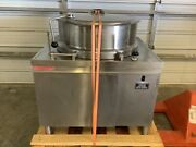 Market Forge Dmt40 Direct Steam Kettles 40 Gal Need Power Source