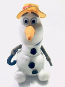 Talking Singing Animated Disney Frozen Olaf Snowman Plush By Just Play 13andrdquo