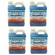 Qty 4 Of Engine Ice 1/2 Gallon High Performance Coolant Non-toxic Biodegradable