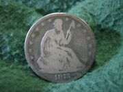 1875 U.s. Seated Liberty Half Dollar Silver Coin  Very Nice 50 Cents Coin