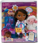 Disney Doc Mcstuffins Time For Your Checkup Sing Along Doll Lambie New Toy Rare