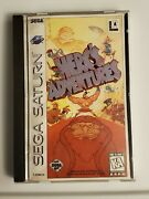 Herc's Adventures Sega Saturn, 1997 Mint Condition And Complete Free Shipping
