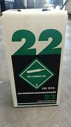 New R22 Refrigerant 5 Lb. Factory Sealed Virgin Made In Free Same Day Shipping