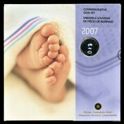 Canada 2007 Commemorative Baby Set Featuring Baby Rattle Quarter, Sealed, Rare